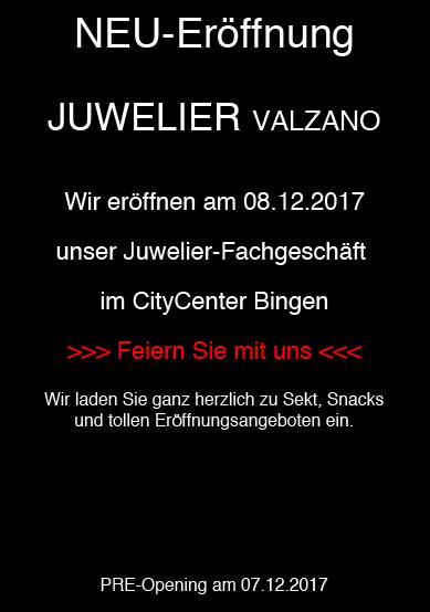Neueröffnung Juwelier Valzano