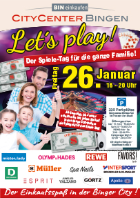 Let's play! im CityCenter in Bingen